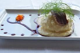 Palla di polenta con pitina e formaggio