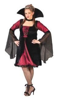 plus size sexy Vampir Kostüm