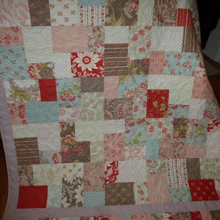 25 best Quilts - Double Slice Layer Cake images on Pinterest ... : double layer cake quilt - Adamdwight.com