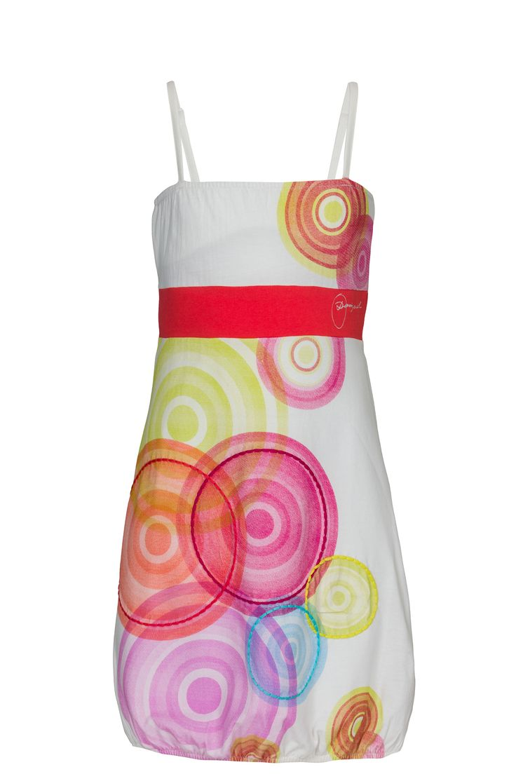 100%-organic cotton for happy, green girls! A cute Caudilla Dress ! #Kids SS15