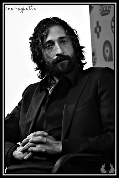 Adrien Brody - he has such a distinct look, even dirty he's eye catching!