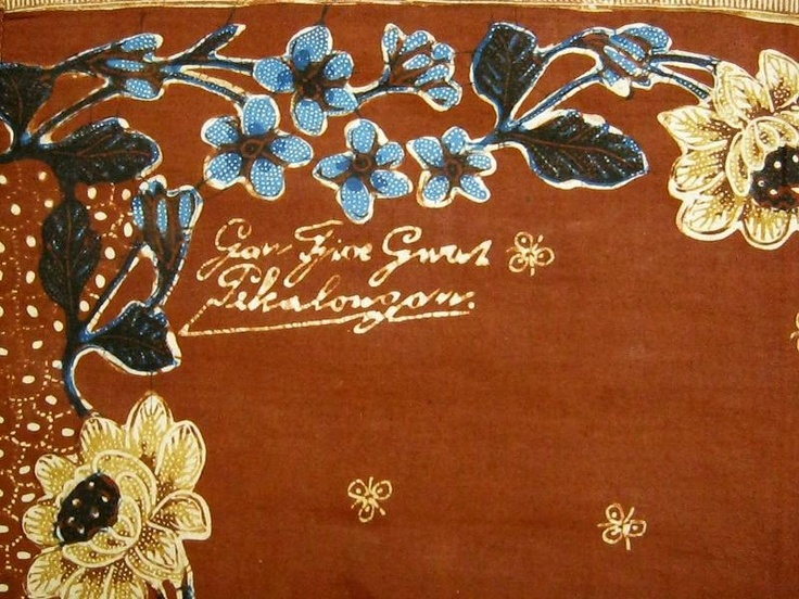 batik Pekalongan : Kedele Kecer