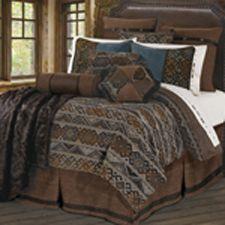 Rio Grande Southwestern Bedding Duvet Cover Set and Accessories