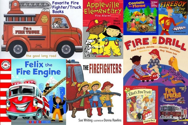 Fire Fighter, Fire Truck and Fire Safety Books for Kids + 10 related activities for Fire Prevention Week #firesafety #firetrucks #fireprevention #firefighters #readforgood