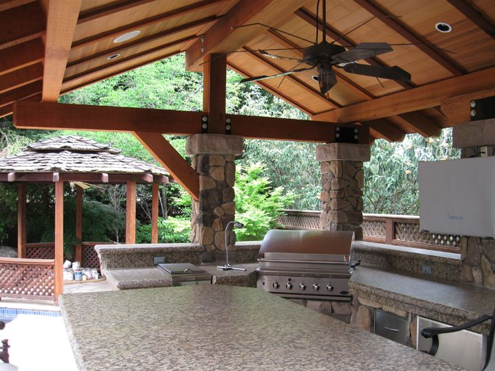 covered patio designs patio cover gallery - Patio Overhang Ideas