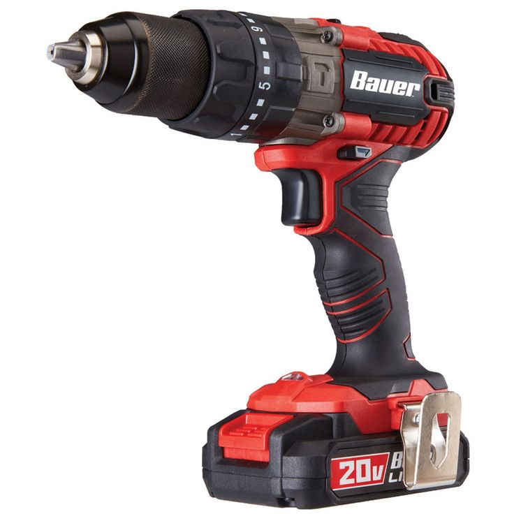 This high performance cordless hammer drill delivers 0-7200/0-27,200 BPM for drilling in tough concrete or masonry. The all-metal gear construction ensures heavy duty performance with daily use. The LED light gives you a clear view in dark spaces. Easy switchover between hammer drill and drill-only modes.