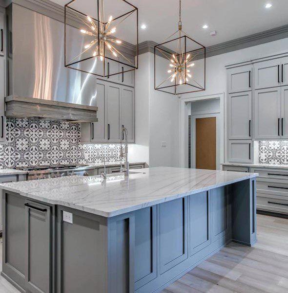 Interior Design Kitchen Photos: Top 50 Best Grey Kitchen Ideas