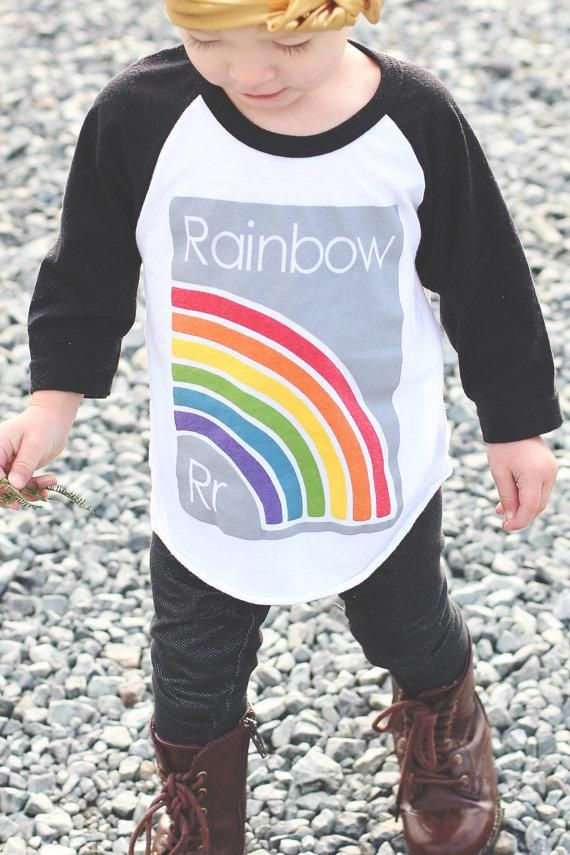 91110261d PRE-ORDER Baseball tee - R is for Rainbow Retro Baby Clothes - Baby Boy  clothes - Danish Baby Clothes - Smafolk - Toddler clothing - Ba…