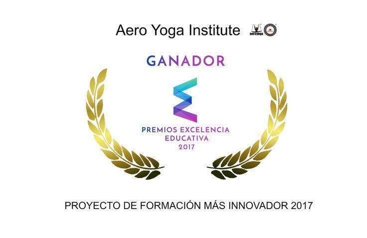 AeroYoga® Institute ha sido galardonado con dos de los premios Excelencia Educativa. , PREMIO PROYECTO DE FORMACION MAS INNOVADOR #AEROYOGA #AEROPILATES #WELOVEFLYING! #escola #girona, #tarragona #monitors #aeri #classes #yogaaereo #formacion #cursos #barcelona #catalunya #body  #yogacreativo #aerialyoga #aerialpilates #cursosyoga #cursospilates #aeropilatescursos #fly #flying #pilatesaereocursos #aeroyogachile #aeroyogastudio #aeroyogabarcelona #aeroyogaespaña #wellness #bienestar…