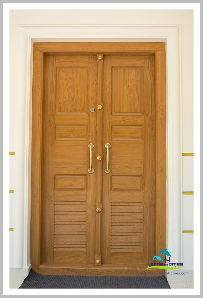 83 Reference Of Front Double Door Design Kerala Style In 2020 Single Door Design Double Front Doors Door Design Images