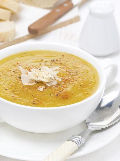 Recette Soupe de légumes montagnarde, notre recette Soupe de légumes montagnarde - aufeminin.com