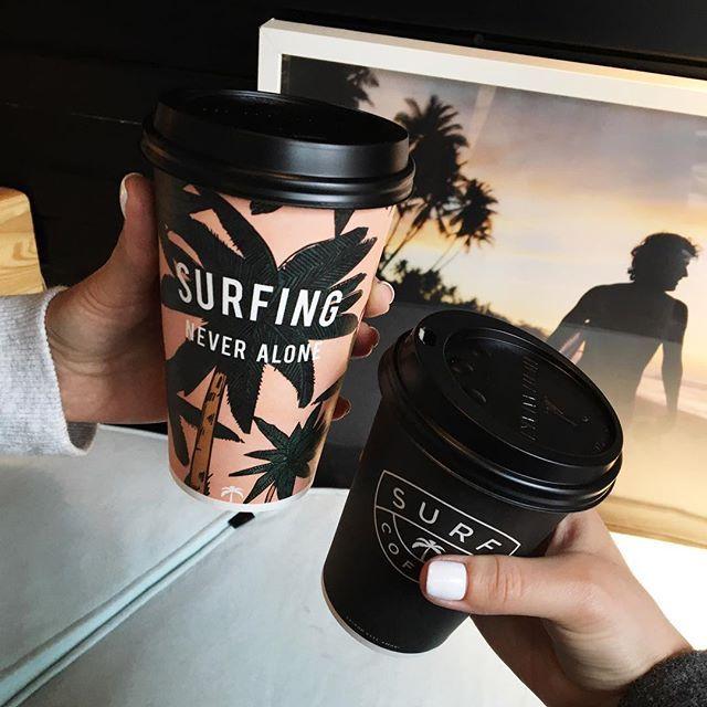 В Surf coffee лучший кофе!советую попробовать гавайский латте с кокосовым сиропом ☕️