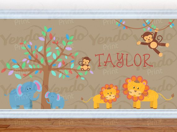 Best Wall Decals Images On Pinterest Kids Wall Decals - Nursery wall decals jungle
