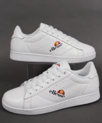 Ellesse Anzia Trainers in White/White