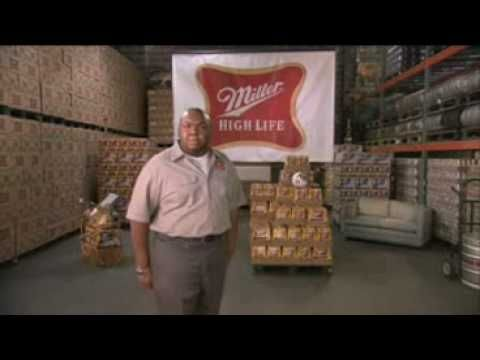 Super Bowl 2009- 1-Second Commercials: Miller High Life GENIUS
