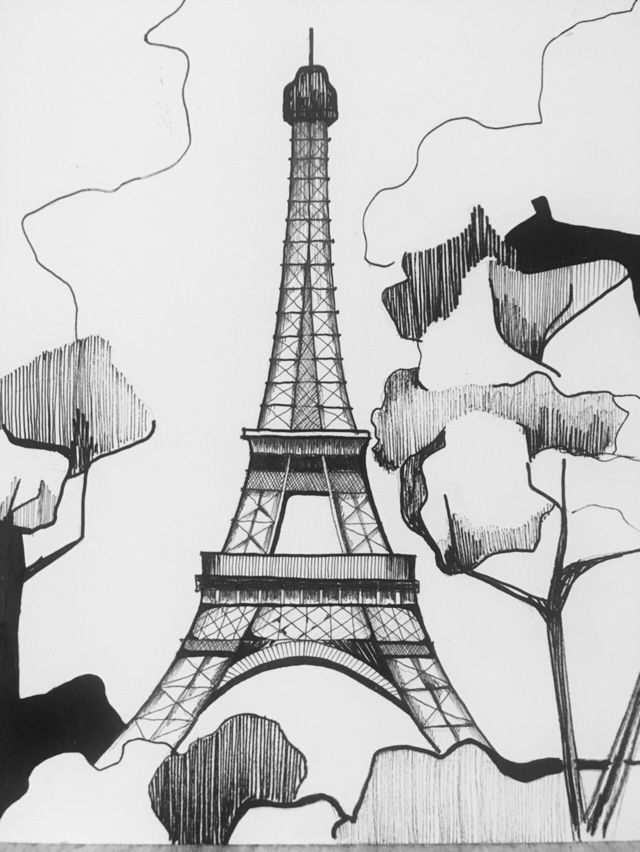 Paris Illustration (Tour Eiffel)
