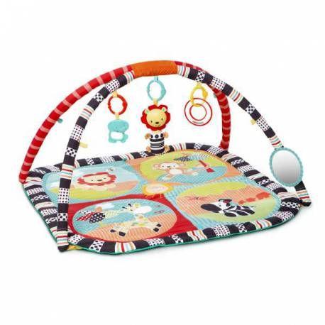Gimnasio Caleidoscopio Bright Starts perfecto para estimular los sentidos del bebé. Dispone de un diseño y colores ideales para potenciar el desarrollo cognitivo. https://carlitosbaby.com/gimnasios-y-alfombras-para-bebes/4722-gimnasio-caleidoscopio-bright-starts.html