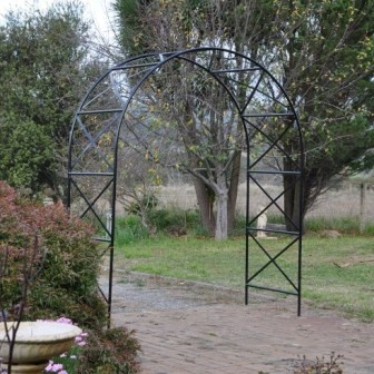 Large Rose Arch With Round Top