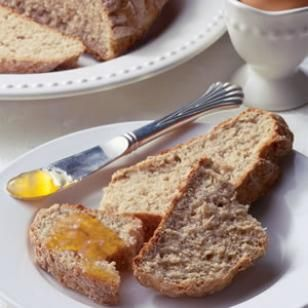 Whole wheat Irish soda bread. I have made this for the past 3 years. It is easy, healthy, and sooo yummy!!