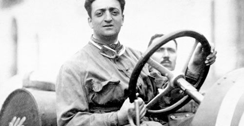3.) Enzo raced for Alfa Romeo for many more years. In 1925 the totalitarian leader Mussolini took lead in Italy and begun using Enzo Ferrari's name as propaganda tool and believed that he had one all his races for Italy while it was actually out of his own talent and passion for racing. Enzo went through huge strain in his mid 20s due to stress and left behind his aspirations to be a professional racing driver and turned to fixing automobiles for Alfa Romeo.