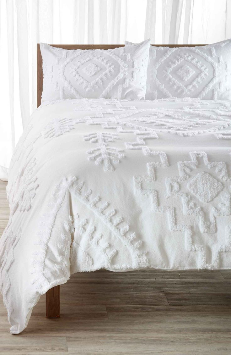 Main Image - Nordstrom at Home Lima Tufted Duvet Cover