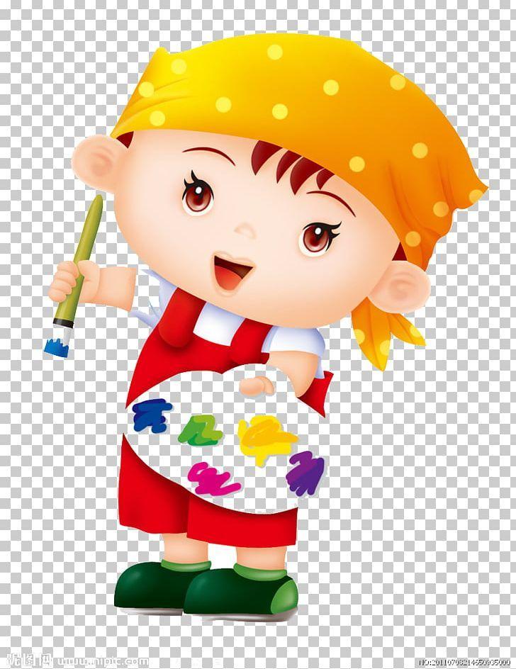 Paintbrush Palette Microsoft Paint Png Art Boy Cartoon Child Color Microsoft Paint Paint Brushes Png