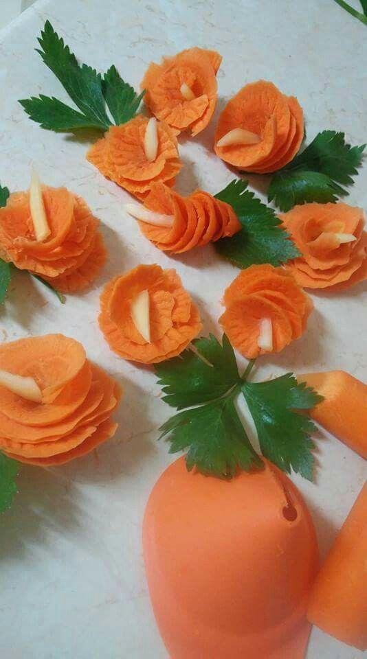 Flori din morcovi