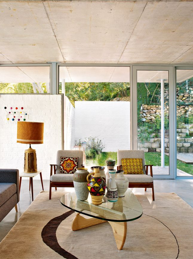 A MID CENTURY MODERN HOME IN SOUTH AFRICA   THE STYLE FILES