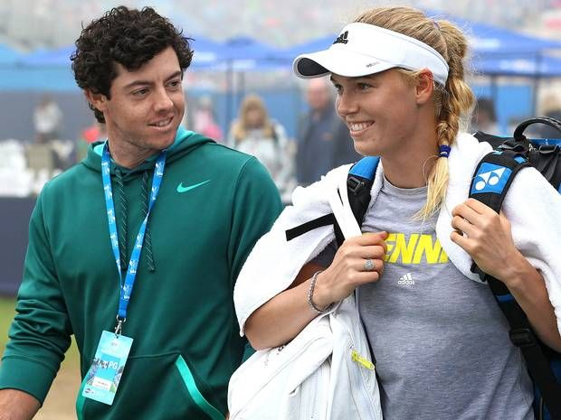 Rory McIlroy breaks off engagement to Caroline Wozniacki days after sending wedding invites: 'I wasn't ready for what marriage entails' - THE INDEPENDENT #RoryMcllroy, #CarolineWozniacki