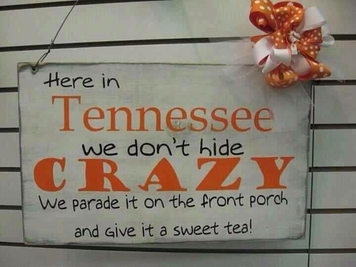 True Tennessee Girl!!!