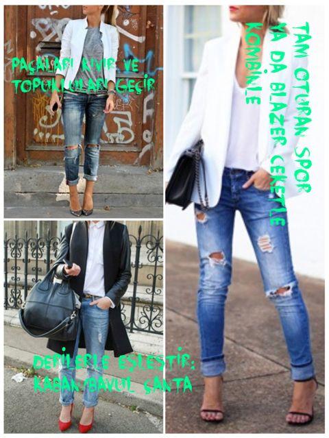 Kasaba Jeans Gallery'den aldığın yırtık kotlar için 'nasıl daha cool giyilir'in püf noktasını veriyoruz.. söylemedi demeyin diyoruz ;) @glitterguide #destructedjeans