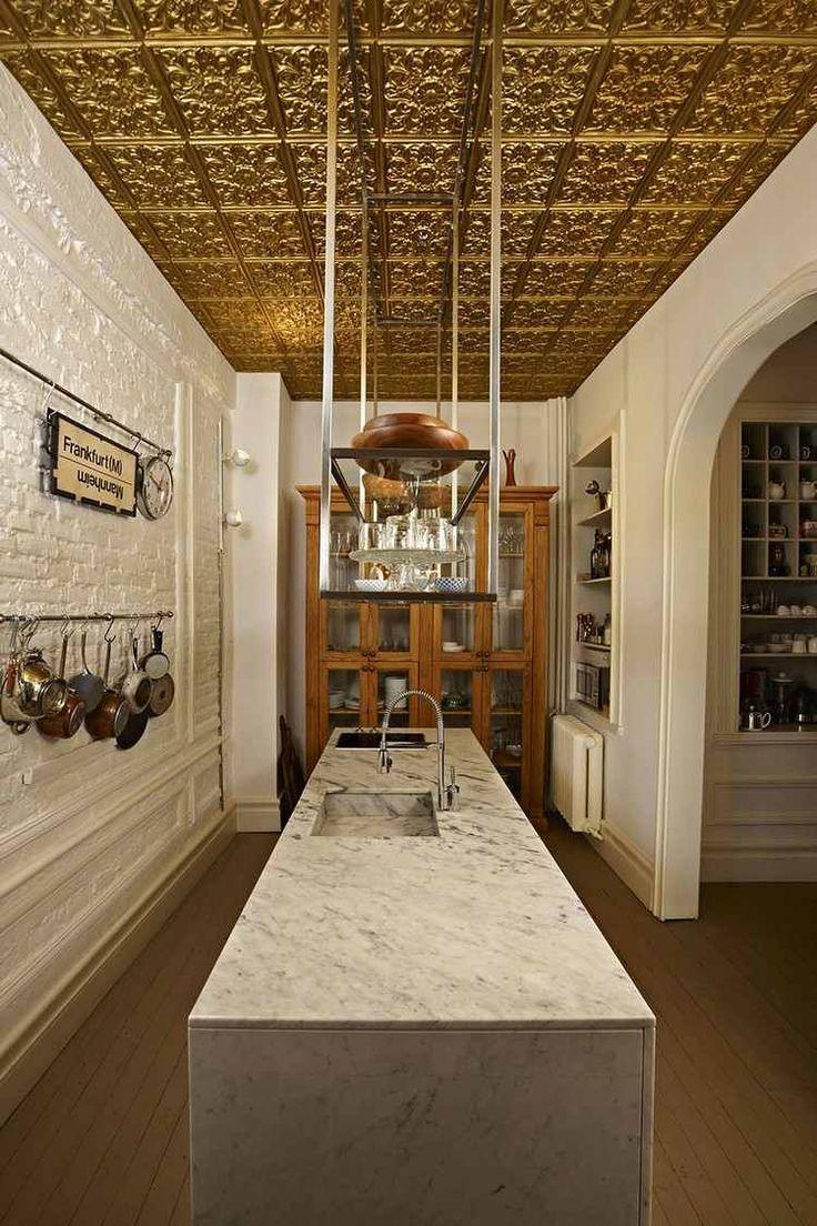 Faux Plafond Bois Cuisine : le th?me Faux Plafond Design sur Pinterest Faux Plafond, Plafond