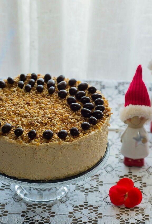 Tarta mousse de turrón, sin gluten y sin lactosa http://www.larosadulce.com/2017/12/tarta-mousse-de-turron-sin-gluten-sin-lactosa.html