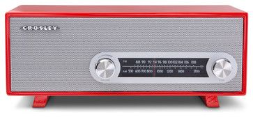 Ranchero Radio- Red traditional-home-electronics