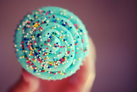 sweet: Blue Cupcakes, Sprinkles, Tiffany Blue, Rainbows, Turquoi Cupcakes, New Products, Favorite Recipes, Cupcakes Rosa-Choqu, Colors Food