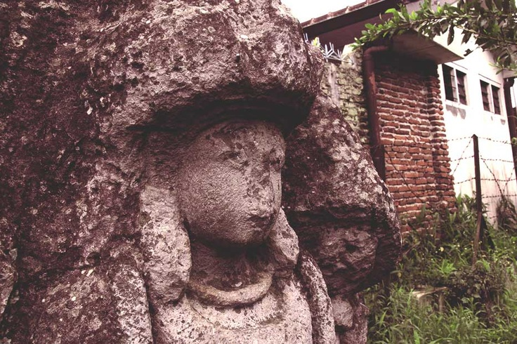 Battered by changing seasons and geological processes, this particular sculpture still radiates mystical beauty.