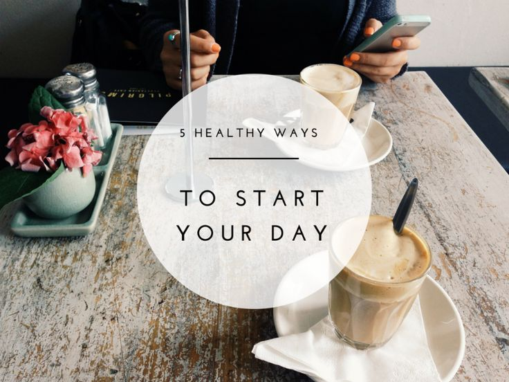 You don't need an elaborate morning routine to have a successful day. These healthy morning habits take less than 10 minutes so anyone can start doing them!
