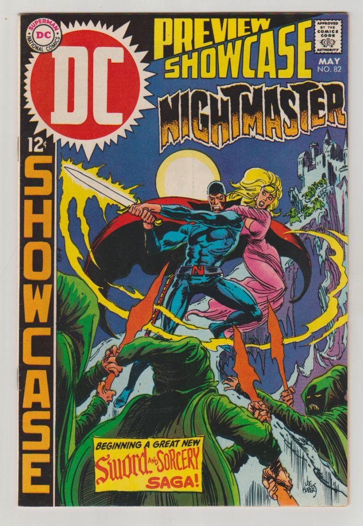 Showcase; Vol 1, 82, Silver Age Comic Book.  VF+. May 1969.  DC Comics #showcase #nightmaster #silveragecomics #comicsforsale