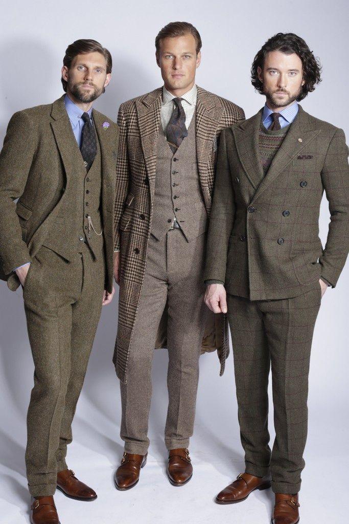 Ivy League Style | Ralph Lauren men of tweed