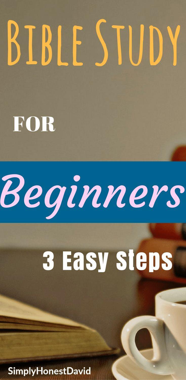 Bible studies for beginners bible
