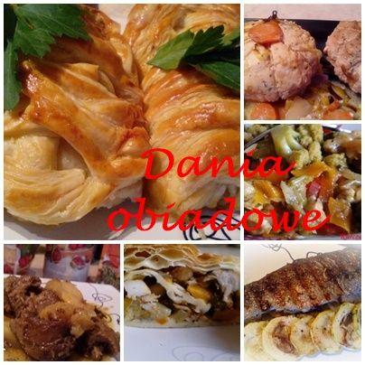 W kuchennym oknie Ewy: Dania obiadowe