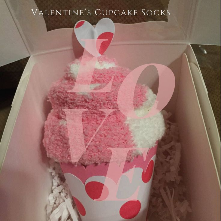 Valentine's Day Cupcake Socks | Cupcakes| Love| Cupcake Socks | Fuzzy Socks| Love-Get Well Gift-Thoughtful Gift | Party Favor | Teacher Gift by SeasideWishes on Etsy https://www.etsy.com/listing/566357467/valentines-day-cupcake-socks-cupcakes