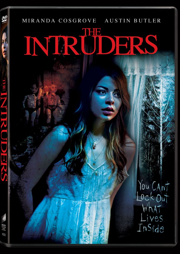"""Director Adam Massey's The Intruders (2015) brings Miranda Cosgrove (iCarly TV series) to the horror movie world. On February 24, 2015, we will get the DVD and Digital HD release from Sony Pictures Home Entertainment. Also starring in The Intruders are Donal Logue, Austin Butler and Tom Sizemore. Bonus features include extras like """"the making of the film"""" and interviews/discussions with the filmmakers and cast."""