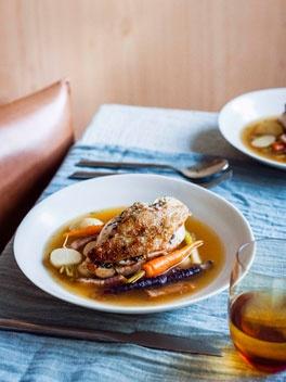 Spring chicken pot au feu. #French food porn #pot-au-feu, #french food cravings http://www.foodnetwork.com/recipes/emeril-lagasse/pot-au-feu-recipe/index.html
