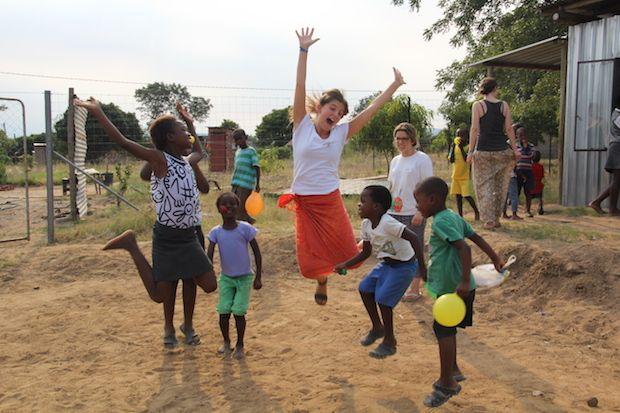 Teen and high school volunteer abroad with Volunteering Journeys