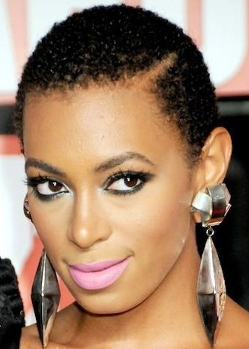 12 Solange Knowles African American Hairstyle Close