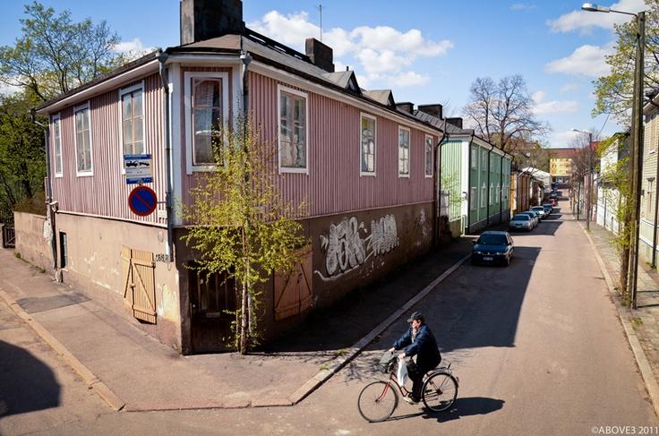 Puu-Vallila, Helsinki, Finland.