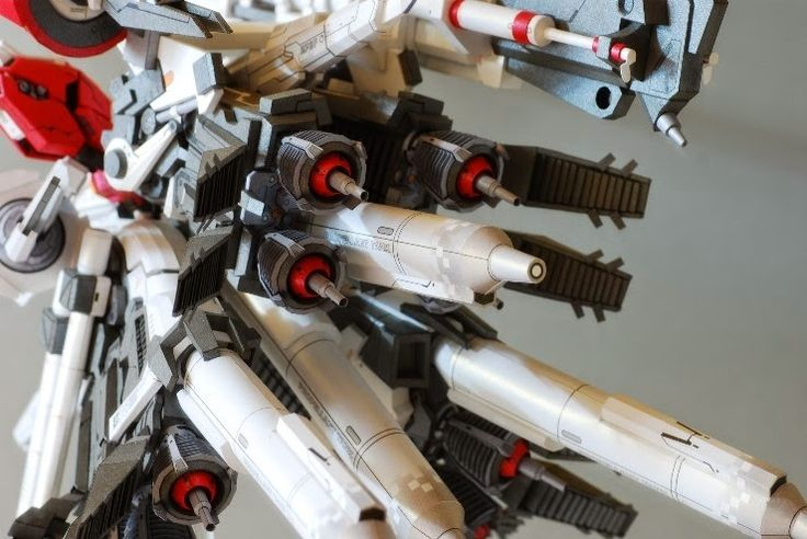 "AMAZING PAPERCRAFT! MSA-0011(Bst) S Gundam Booster Unit Type Plan 303E ""Deep Striker"" Full photoreview No.35 Big Size Images. [Closeups too] http://www.gunjap.net/site/?p=197901"