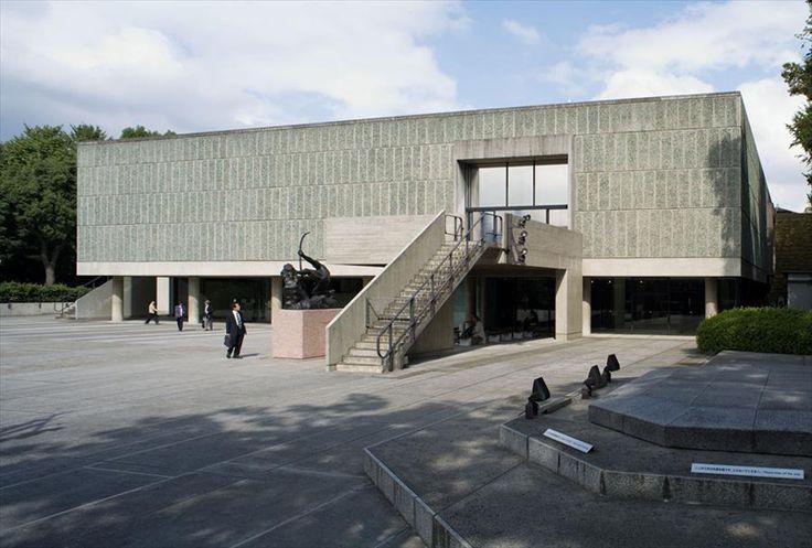 Ле Корбюзье / Le Corbusier. Национальный музей Искусства   токио  1959г