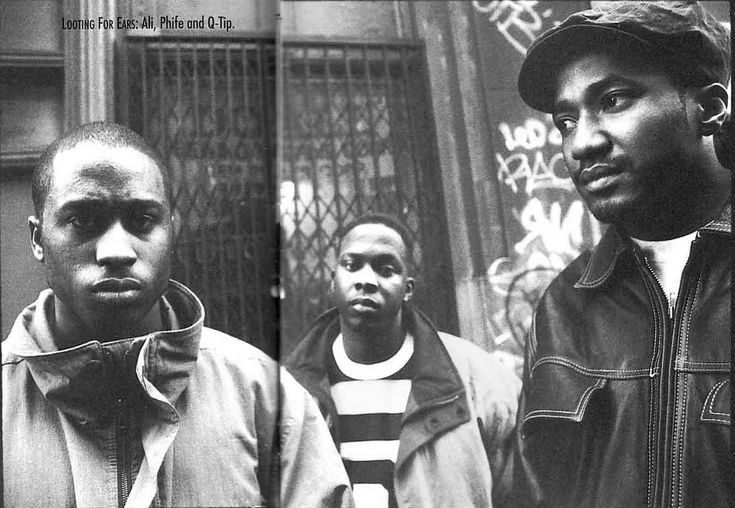 Hip-hop group A Tribe Called Quest. http://www.dazeddigital.com/music/article/16654/1/dazed93-a-tribe-called-quest